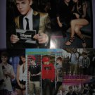 Justin Bieber Japanese clippings / articles