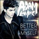 Adam Lambert Better Than I Know Myself Japanese CDS