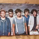 One Direction double-sided card