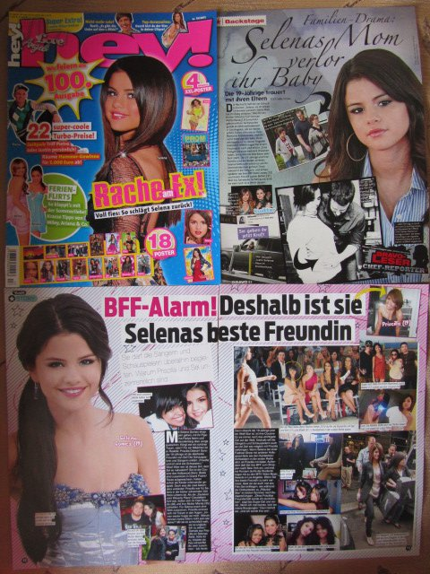Selena Gomez clippings #6