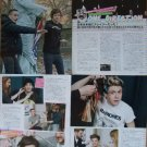 One Direction Japanese clippings / articles / pin ups #2