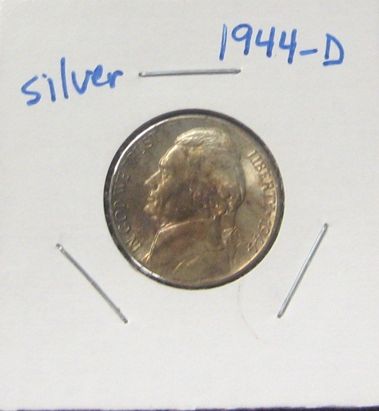 1943-P Jefferson Nickel, Silver,  #2045