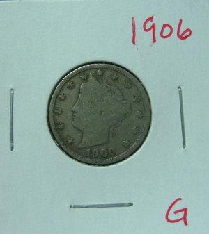 1906 Liberty Nickel, #2520