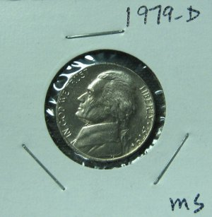1979-D Jefferson Nickel, #1202