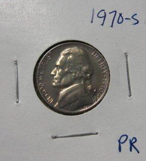 1970-S Jefferson Nickel Proof, #2655