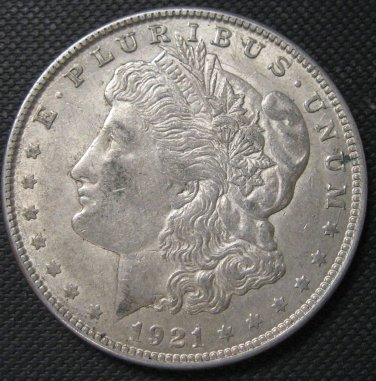 1921 Morgan Dollar, #3094