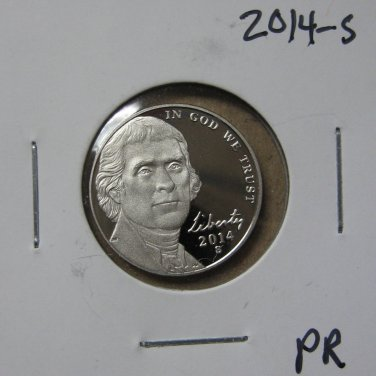 2014-S Proof Jefferson Nickel, #3385
