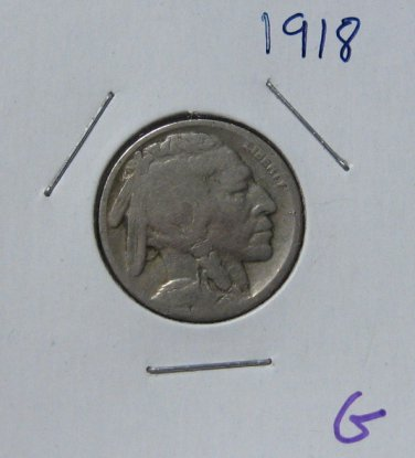 1918 Buffalo Nickel  #3369