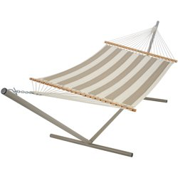 Pawleys Island Large Quilted Hammock - Regency Sand