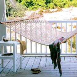 Pawleys Island Presidential Cotton Rope Hammock