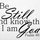 Psalms 46:10