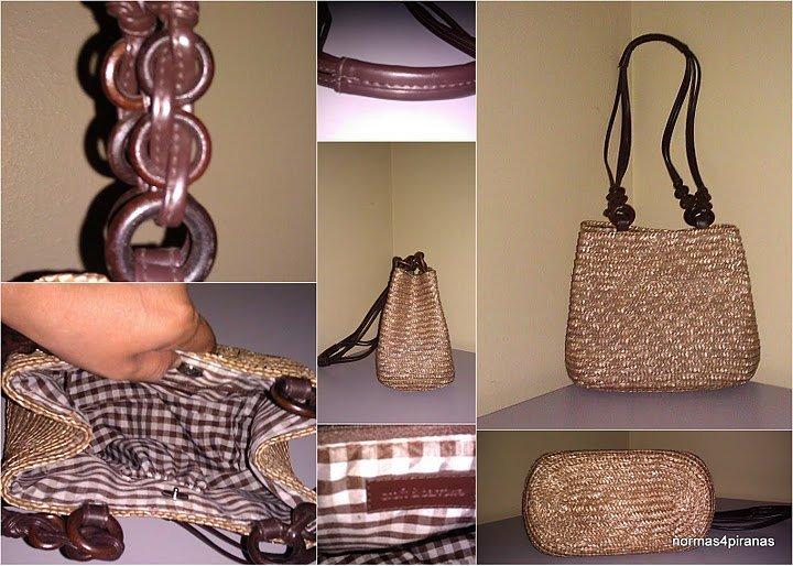 Croft & Barrow Straw shoulderbag