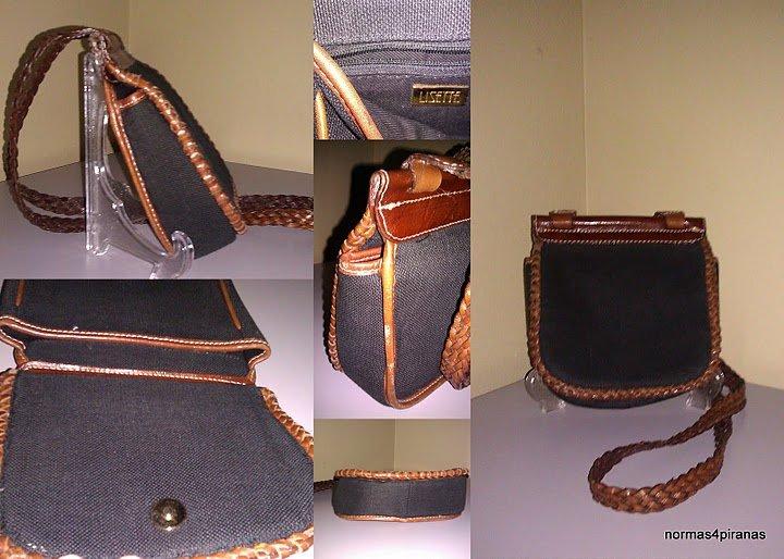 Lisette braided leather shoulder strap crossbody bag