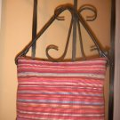 Talbots Shoulderbag/Handbag/Tote...leather trim