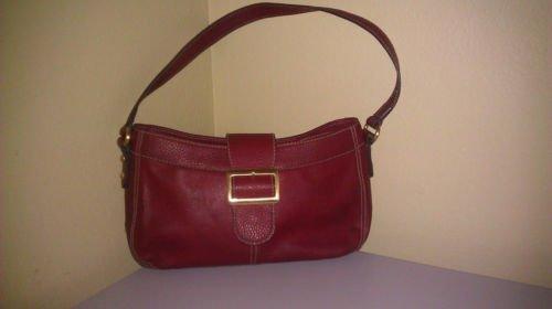 Liz Claiborne Villager sim leather Handbag