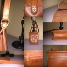 Hunt Club Brown Leather ** TWIST LATCH CLOSURE**