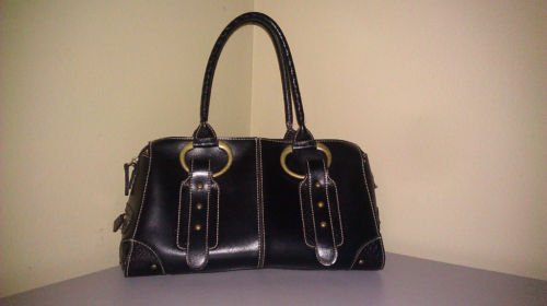 Apt. 9 Simulated Leather with copper accents handbag