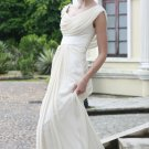 Ivory Rhinestone Wedding Dress Formal Prom Evening dress