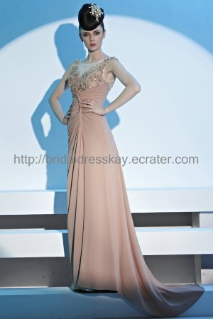 High Quality Pink Evening Dress