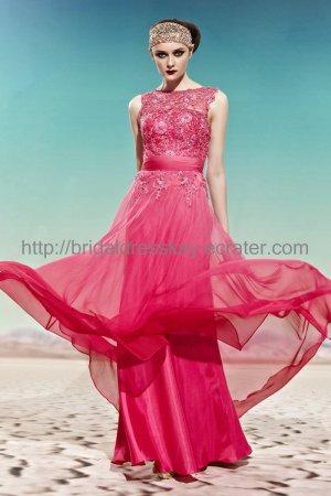 2012 Red Evening Dress