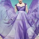 Hot Sell Purple Evening Dress