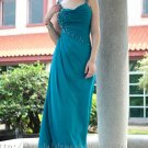 Sweetheart Green Evening Dress Bridesmaid Prom Ball Party Gown