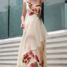 Floor Length Straps Evening Prom Dress Party Gown