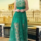 Floor Length Green Sexy Evening Dress Prom Party Gown