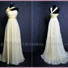 Custom Chiffon Sweetheart Beach Bridal Wedding Dress