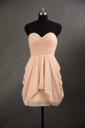 Sweetehart Short Bridesmaid Dress Prom Wedding Party Dress Gown