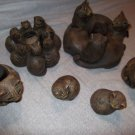 WINDSTONE Pena Cat Lover Figurines Candle LOT 6 Piece