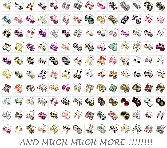 Fashion Earrings (Wholesale)