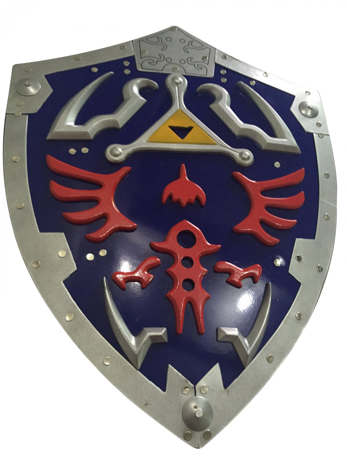 hylian shield of link legend of zelda metal full size