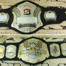 GB004 Set of belts MMA UFC Rare Hand Made Strikeforce Belts replica Championship belts