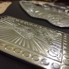 GB006 Pride Silver Color Hand Made Championship Replica Belt Size 51 Inches Length