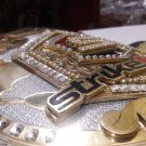 MMA UFC Rare Hand Made strikeforce world Championship replica belt size 51 long
