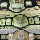 MMA UFC Rare Hand Made strikeforce belts set world Championship replica belt size 51 long 3 belts