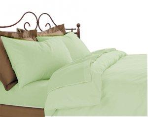 100% Egyptian Cotton 600 TC Sheet set Stripe  king sage