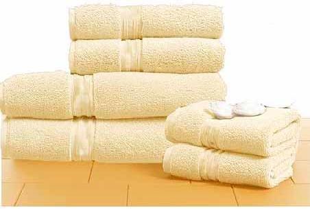 Egyptian Cotton 720 GSM 6 pcs Towel Set  Ivory