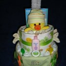 SOLD - Dee Duck Diaper Cake