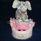 Elly the Elephant Diaper Cake