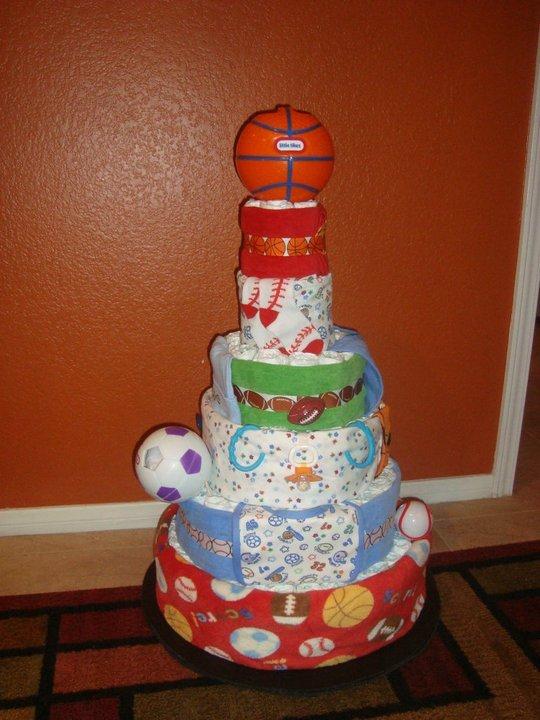 All Star Sport! Diaper Cake