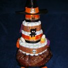Witchy Diaper Cake