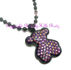 TOUS Teddy Bear Charm Necklace
