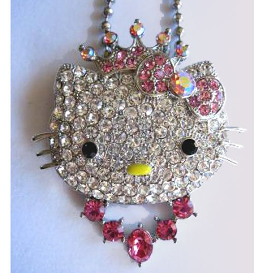 Hello Kitty Charm Pendant FREE Shipping