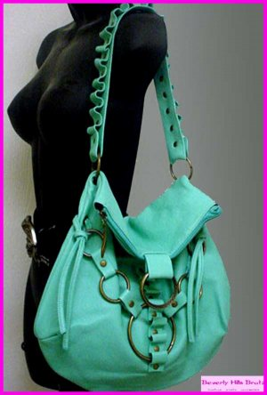 Butterfly Satchel, Ocean Blue  FREE Shipping