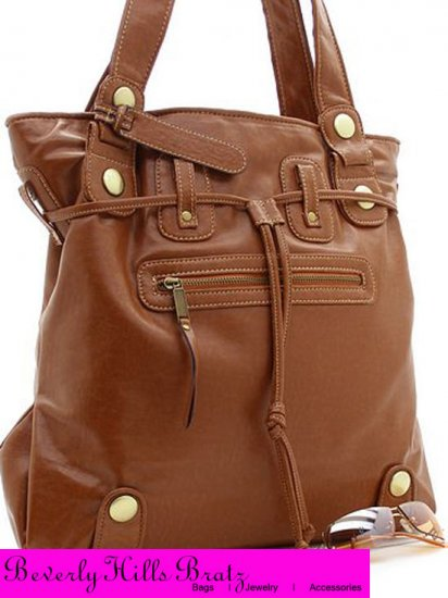 Parina Style Tote, Cognac  FREE Shipping