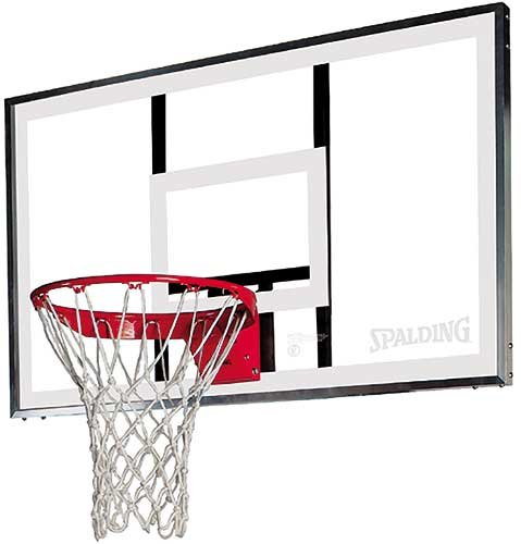 Spalding 79307 52 inch Acrylic Basketball Backboard Rim Combo
