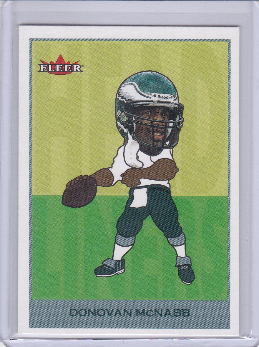 DONOVAN MCNABB 2002 FLEER TRADITION HEADLINERS