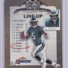 DONOVAN MCNABB 2001 FLEER GAME TIME ELEVEN UP